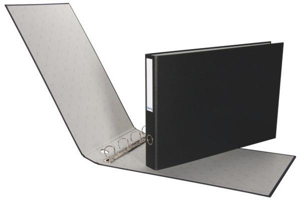 BIELLA Ringbuch Plasti-Quatro 4cm 12735402U schwarz,...