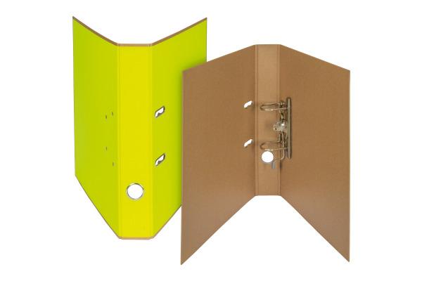 BIELLA Ordner Skandal 4cm 139404.2 gelb A4