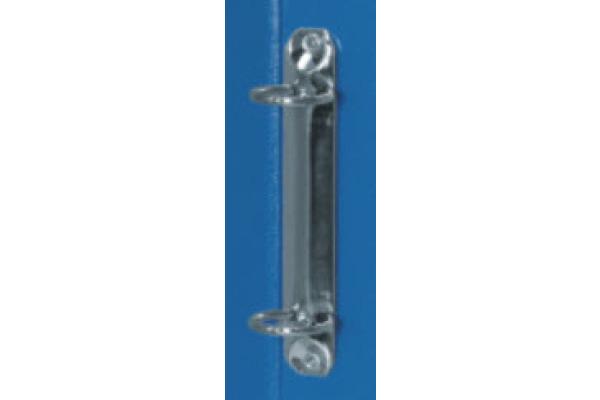 BIELLA Ringhefter Viria 25mm 151403.05 blau, 2-Ring A4