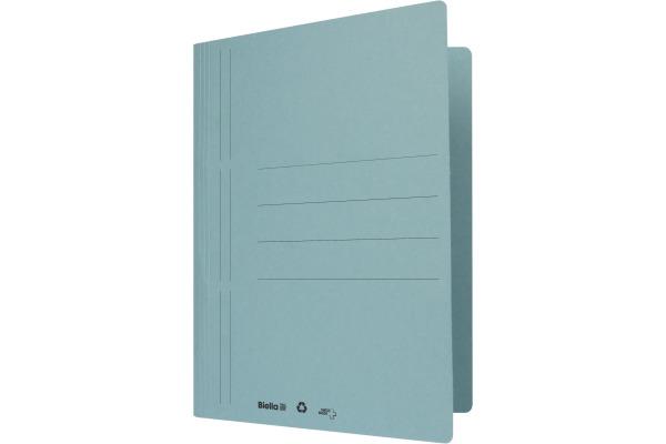 BIELLA Schnellhefter Biella 6 A4 16640005U blau, 320gm2...