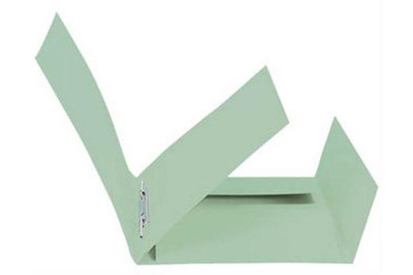 BIELLA Schnellhefter Praxis A4 167400.30 grün, 320gm2 250 Blatt