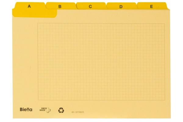 BIELLA Kartei-Leitkarten A6 21962520U...
