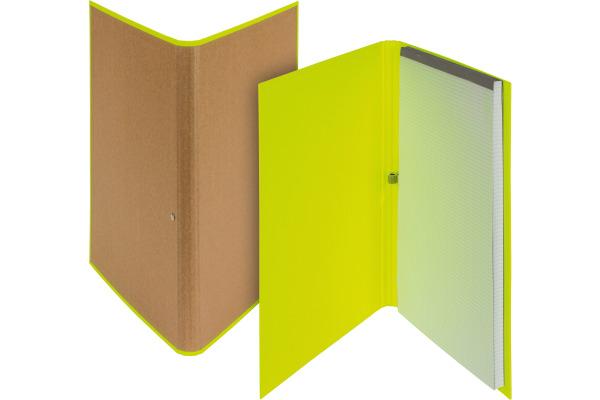 BIELLA Schreibmappe Skandal A4 239410.2 gelb