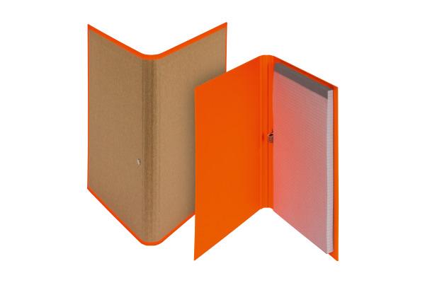 BIELLA Schreibmappe Skandal A5 239510.3 orange