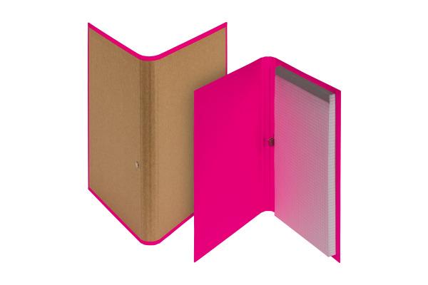 BIELLA Schreibmappe Skandal A5 239510.4 pink