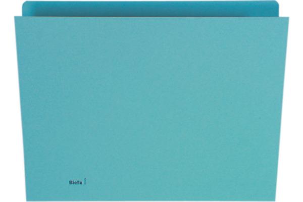 BIELLA Vertikalmappe A4 25542405 blau 100 Stück