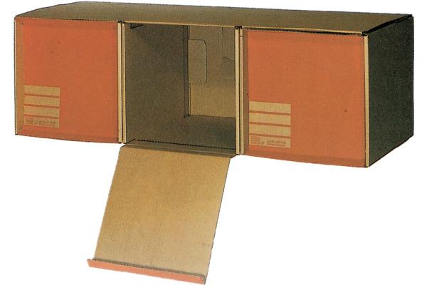 BIELLA Archivbox Deporama A4 26830000U braun 3...