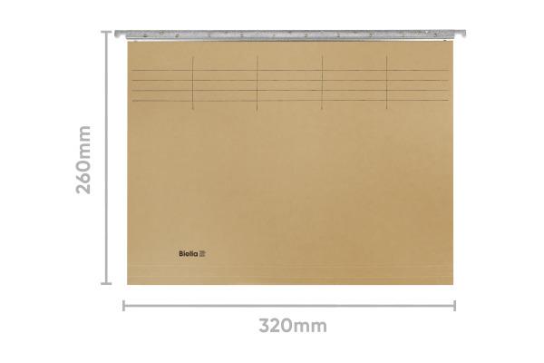 BIELLA Hängemappe A4 27042600U oliv 32x26cm