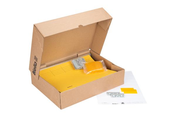 BIELLA Hängemappe 27125520U gelb 25 Stück