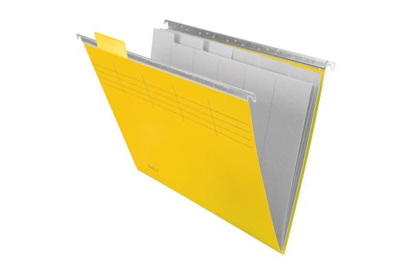 BIELLA Registermappe A4 27143020U Set, gelb 25cm