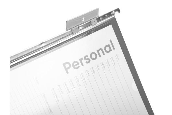 BIELLA Registermappe A4 27143025U Set, grau 25cm