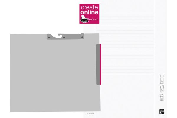BIELLA Etiketten Mono-Pendex A4 27791600U weiss 110...