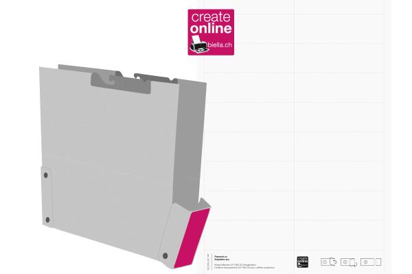 BIELLA Etiketten Mono-Pendex A4 27794700 weiss 80 Stück