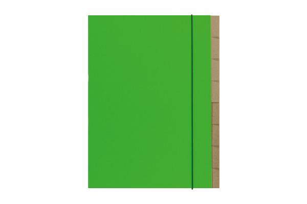 BIELLA Ordnungsmappe Skandal A4 339407.3 grün 1-7