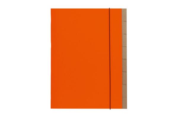 BIELLA Ordnungsmappe Skandal A4 339407.3 orange 1-7