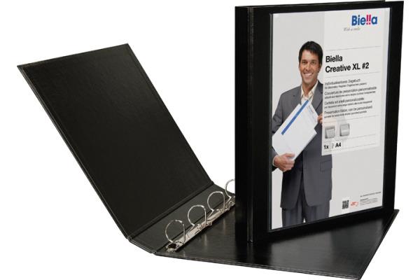 BIELLA Zeigebuch Creative XL#2 2.5cm 443425.02 schwarz,...