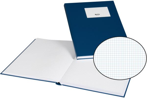 BIELLA Geschäftsbuch A4 60442005U blau, kariert 120 Blatt