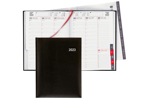 BIELLA Orario 2022 1W 2S schwarz 809301020022U d f i e, 17,8x23,5cm