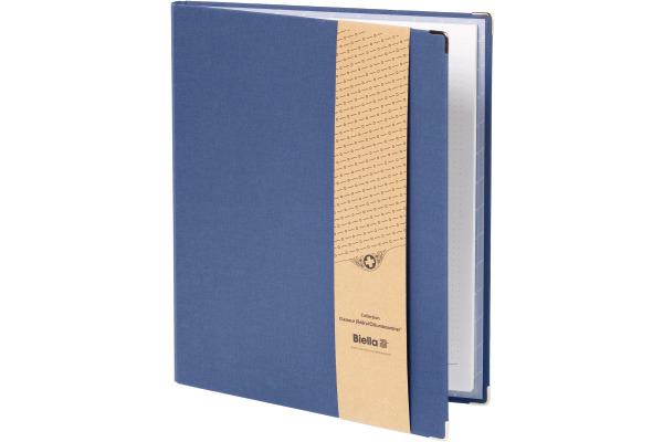 BIELLA Schreibmappe Scribble A4 CB0002.07 dunkelblau Punkte 5mm,50 Blatt