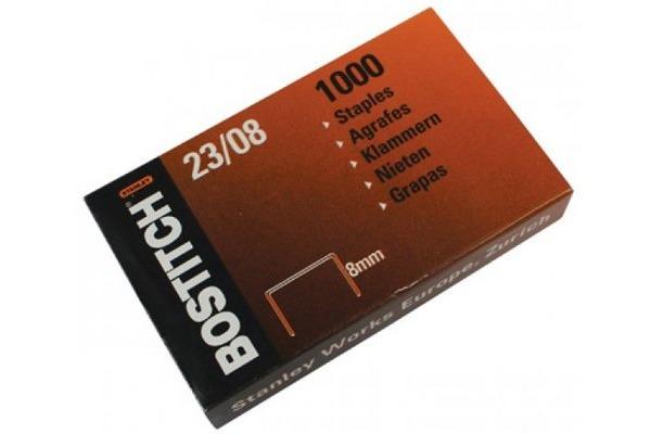 BOSTITCH Heftklammern 8mm 23-08-1M 1000 Stück