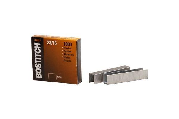 BOSTITCH Heftklammern 15mm 23-15-1M 1000 Stück