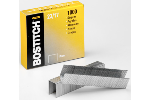 BOSTITCH Heftklammern 17mm 23-17-1M 1000 Stück