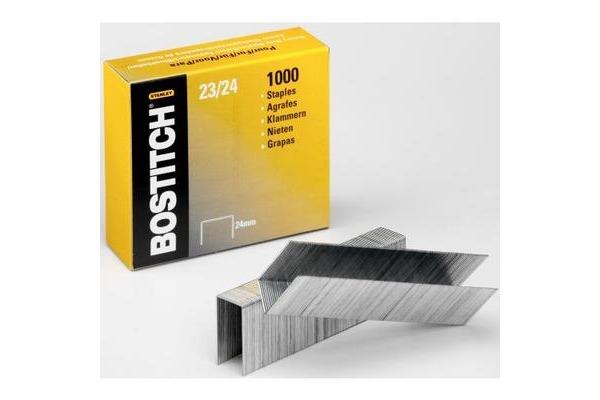 BOSTITCH Heftklammern 24mm 23-24-1M 1000 Stück