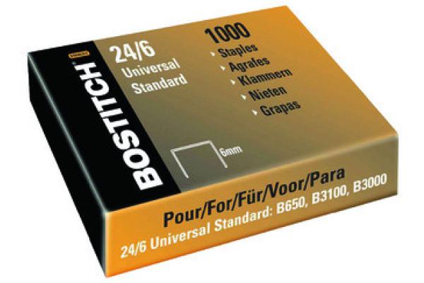 BOSTITCH Heftklammern 6mm 2461MGAL 1000 Stück
