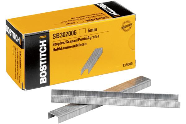 BOSTITCH Heftklammern 6mm SB302006 5000 Stück