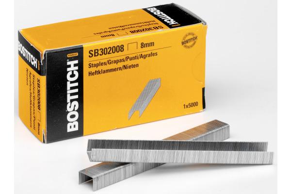 BOSTITCH Heftklammern 8mm SB302008 5000 Stück