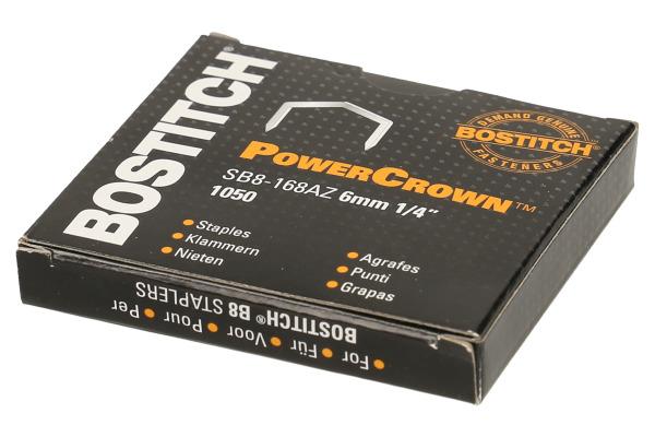BOSTITCH Heftklammern SB-8 6mm SB8-168AZ 1050 Stück