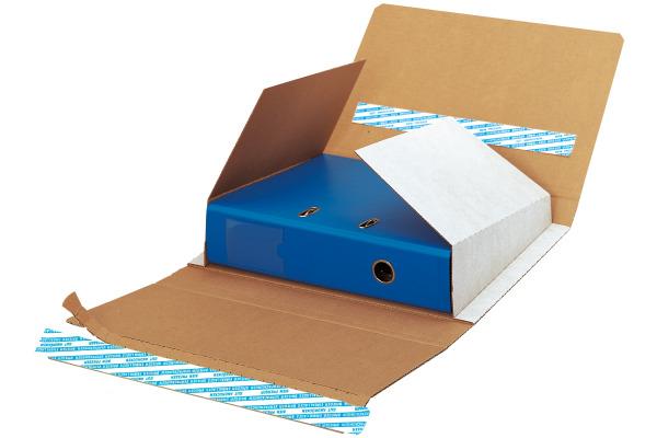 BRIEGER Verpackung Ordnerstar 66280 weiss/braun...