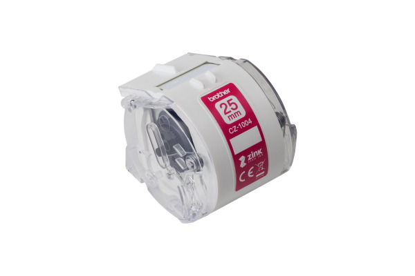 BROTHER Colour Paper Tape 25mm/5m CZ-1004 VC-500W Compact Label Printer