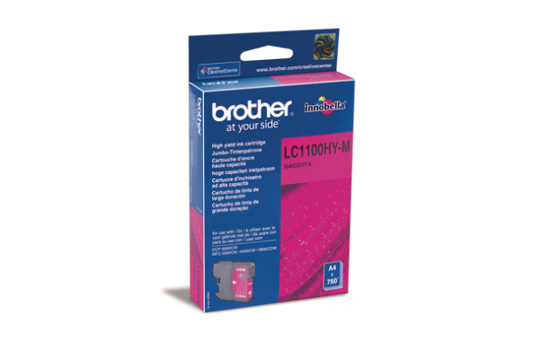 BROTHER Tintenpatrone HY magenta LC-1100HY MFC-6490CW 750 Seiten