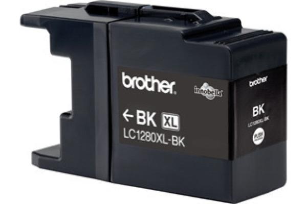 BROTHER Tintenpatrone HY schwarz LC-1280BK MFC-J6510DW...