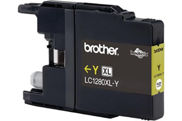 BROTHER Tintenpatrone HY yellow LC-1280Y MFC-J6510DW 1200...