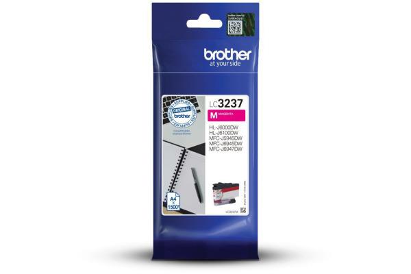 BROTHER Tintenpatrone magenta LC-3237M MFC-J5945DW 1500 Seiten
