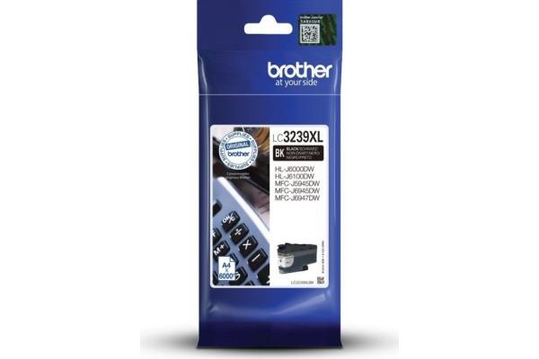 BROTHER Tintenpatrone HY schwarz LC-3239XB MFC-J5945DW 6000 Seiten