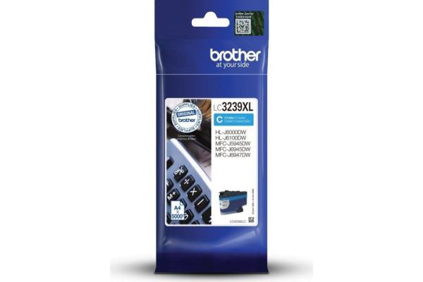 BROTHER Tintenpatrone HY cyan LC-3239XC MFC-J5945DW 5000 Seiten
