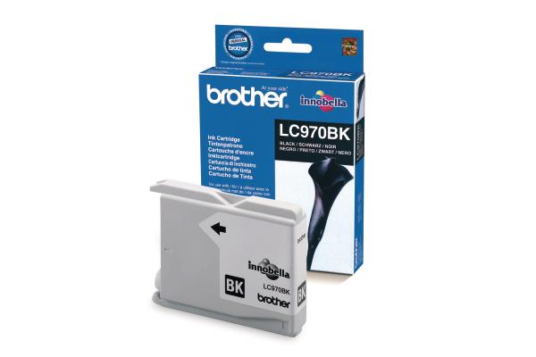 BROTHER Tintenpatrone schwarz LC-970BK MFC-260C 350 Seiten
