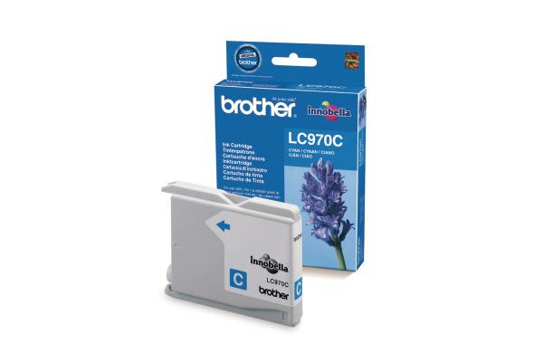 BROTHER Tintenpatrone cyan LC-970C MFC-260C 300 Seiten