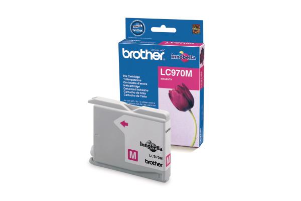 BROTHER Tintenpatrone magenta LC-970M MFC-260C 300 Seiten