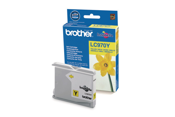 BROTHER Tintenpatrone yellow LC-970Y MFC-260C 300 Seiten