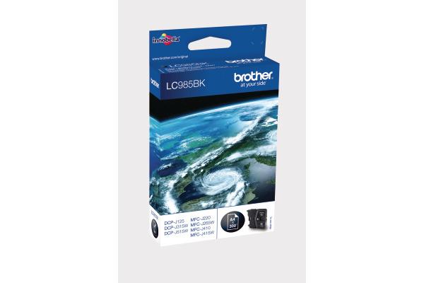BROTHER Tintenpatrone schwarz LC-985BK DCP-J315W 300 Seiten