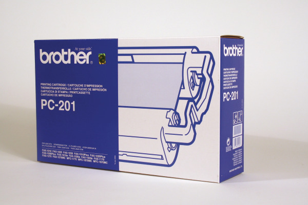 BROTHER Druckkassette m. Filmrolle  PC-201 Fax-1010 420 Seiten