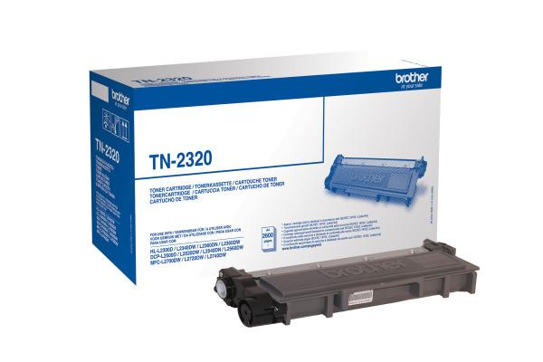 BROTHER Toner HY schwarz TN-2320 HL-L2340/L2360 2600 Seiten