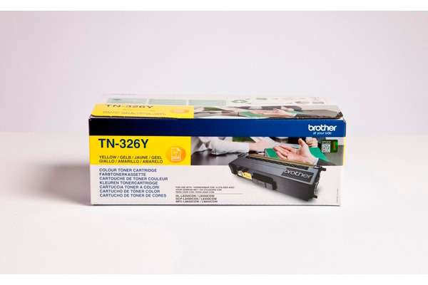 BROTHER Toner HY yellowow TN-326Y DCP-L8400CDN 3500 Seiten