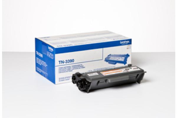 BROTHER Toner EHY Twin schwarz TN-3390 HL-6180 2x12´000 Seiten