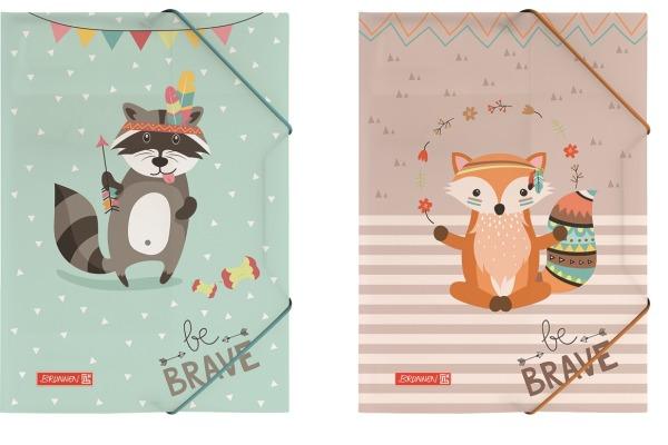 BRUNNEN Heftbox Be Brave A4 104163564 multicolor