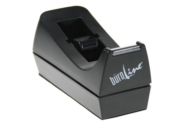 BÜROLINE Pultabroller 19mmx10/33m 136314 schwarz